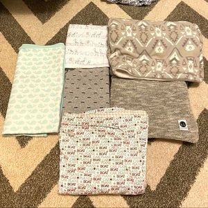 Baby blanket lot of 6 blankets